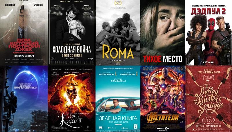 10 лучших фильмов 2018 года довод