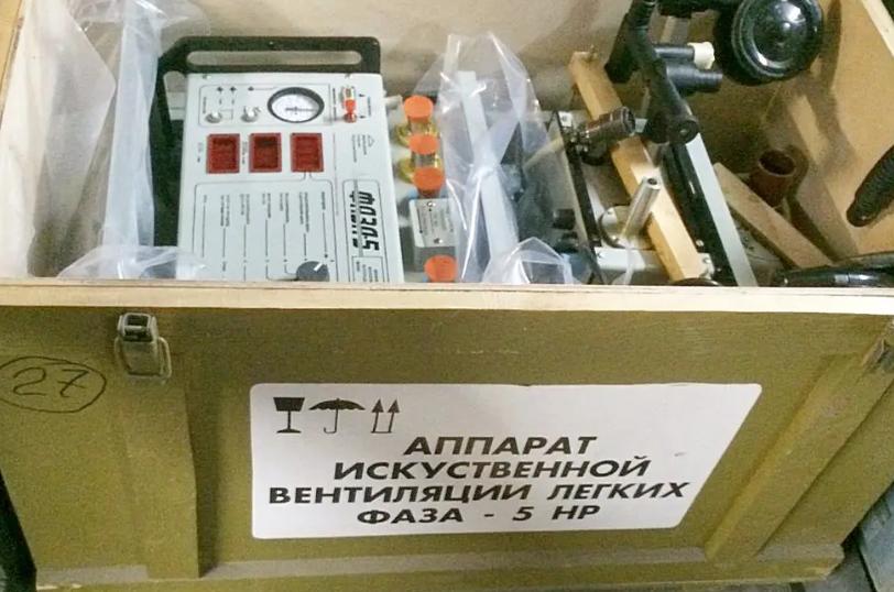Правоохранители арестовали поставщиков просроченных ИВЛ