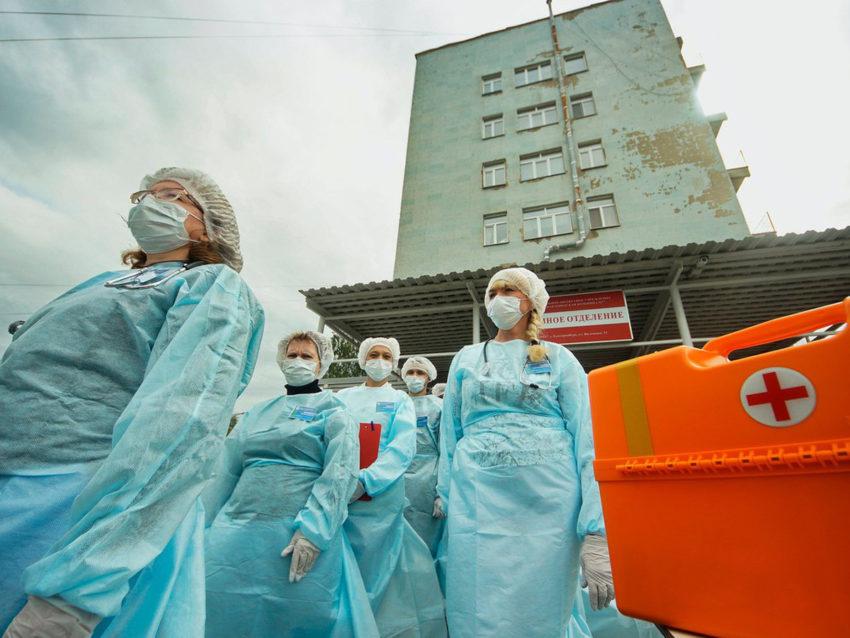 В стационарах города Владимира не хватает мест для больных коронавирусом